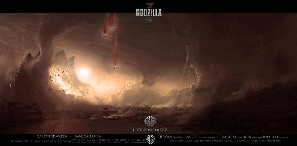 Godzilla Fan Art by Eagle661