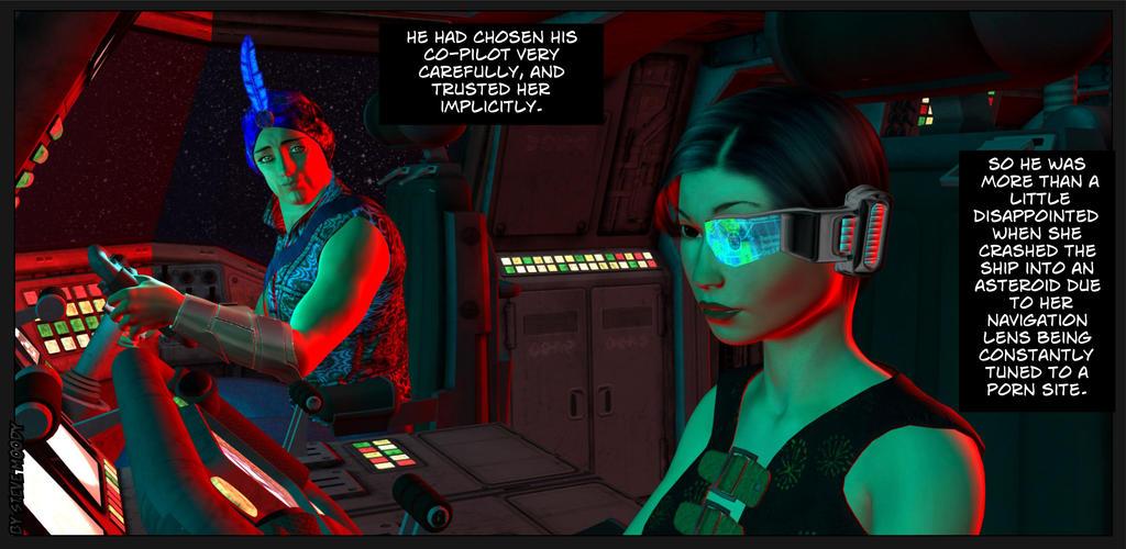 Spaceship Co Pilot by SteveM17