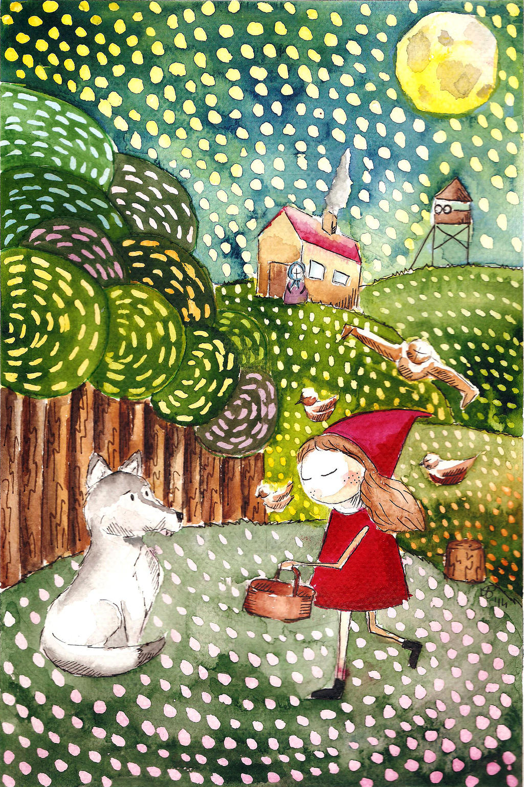 little red riding hood by voteforpralka