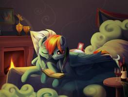 Rainbow Dash and Fleetfoot by Taneysha