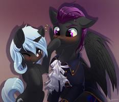 Sammy Sapphire and MoonShard by Taneysha