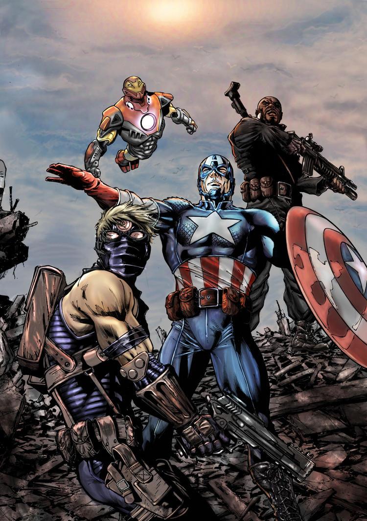 ultimate avengers wallpaper - photo #29