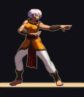 diablo 3 monk pixel by etbtcross