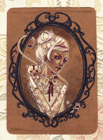 framed by anja-uhren