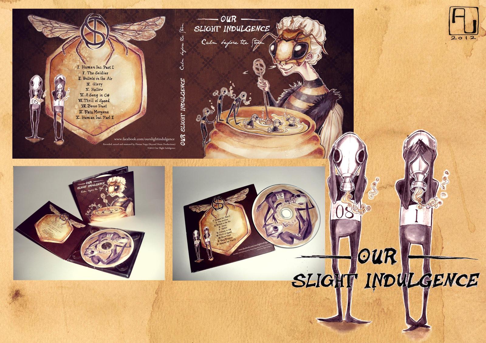Album Cover Art - 'Our Slight Indulgence' by anja-uhren