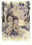 Commission: Nocturnal Bath