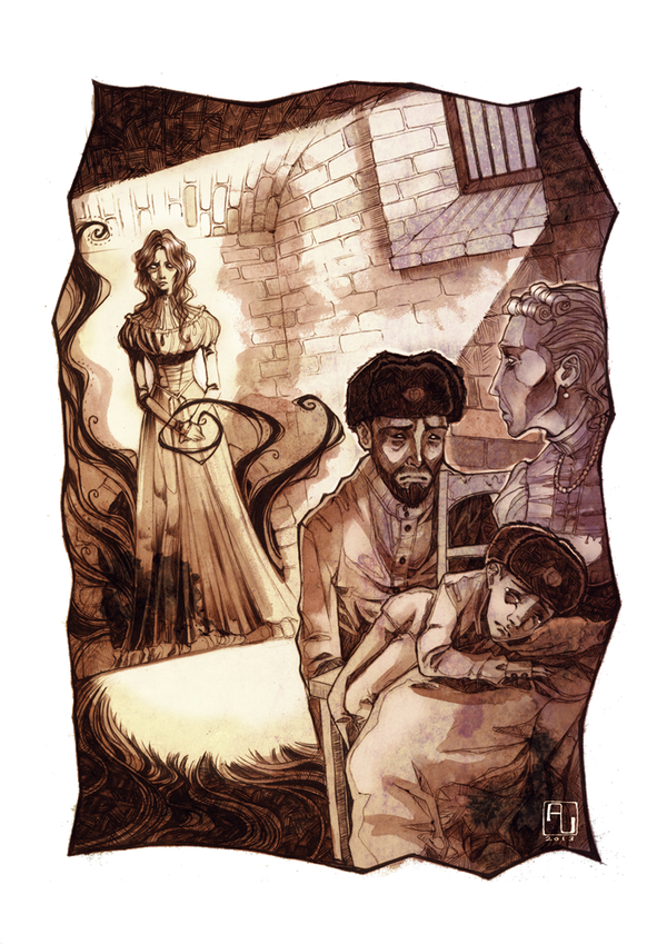 Zarin der Vampire - 'Zarenmord' by anja-uhren