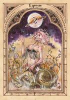 ZODIAC: Capricorn by anja-uhren