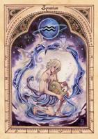 ZODIAC: Aquarius by anja-uhren