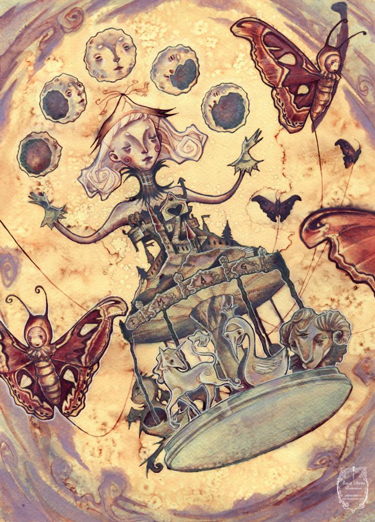Carousel Flight by Miss-Belfry