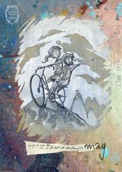 2015 calendar 'encounters' - may by anja-uhren
