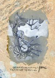 2015 calendar 'encounters' - june by anja-uhren