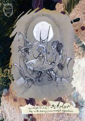 2015 calendar 'encounters' - october by anja-uhren