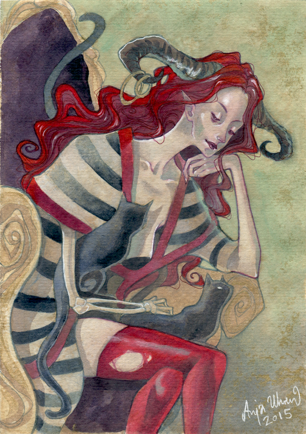 Commission - 'Skotadi' by Miss-Belfry