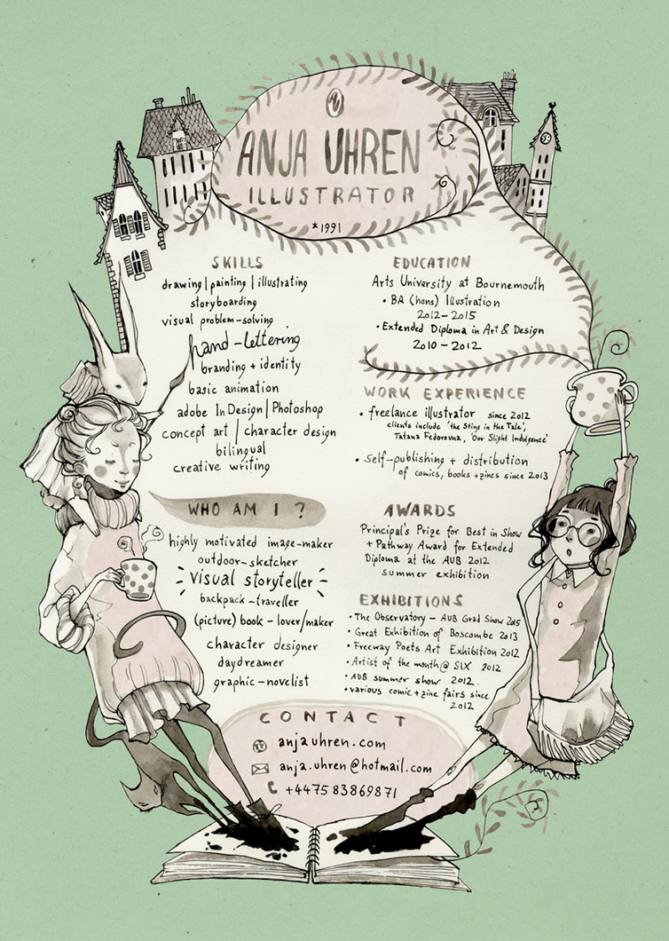 Creative CV by Miss-Belfry