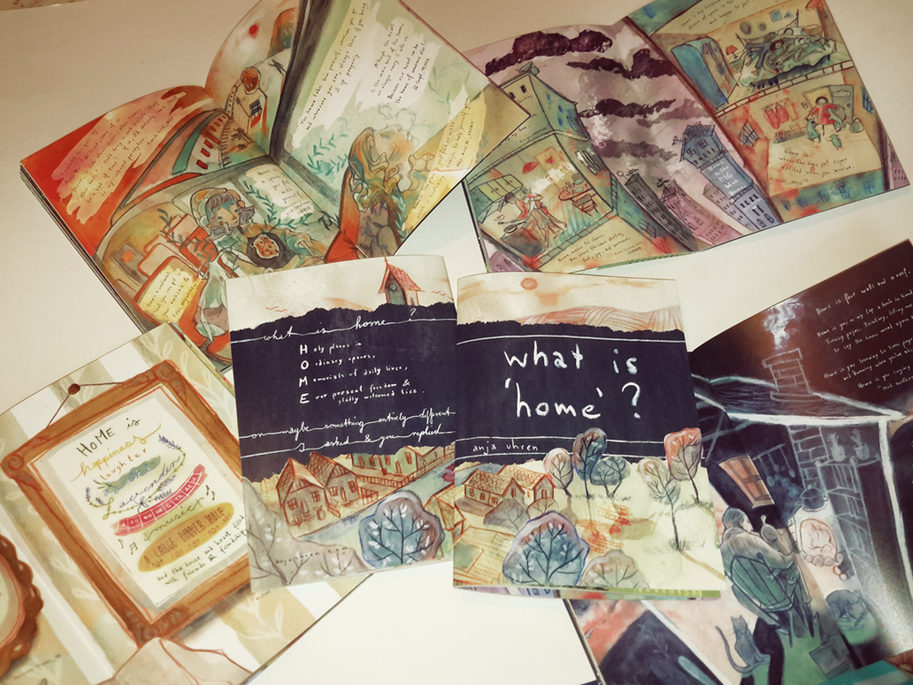 What is 'home'? - zine by Miss-Belfry