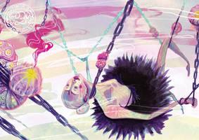 Urchin Oasis by anja-uhren