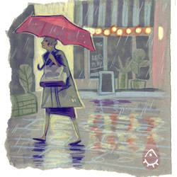 Rainy Day by anja-uhren