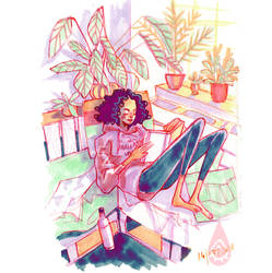 Reading by anja-uhren