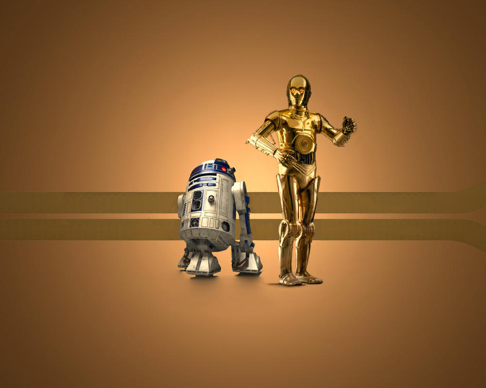 R2d2 And C3po Drawing C3PO v R2D2 by 1darthvader