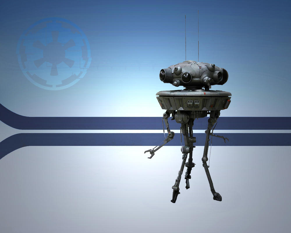 Imperial Probe Droid by 1darthvader