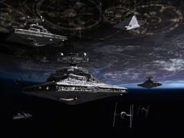 Coruscant Fleet-Final Version by 1darthvader