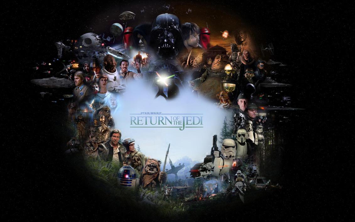 Return Of The Jedi by 1darthvader