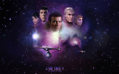 Star Trek II-The Wrath Of Khan by 1darthvader