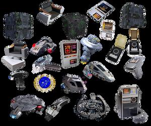 Star Trek Icons PNG