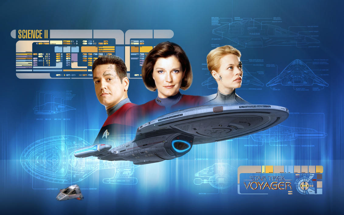 Star Trek Voyager by 1darthvader