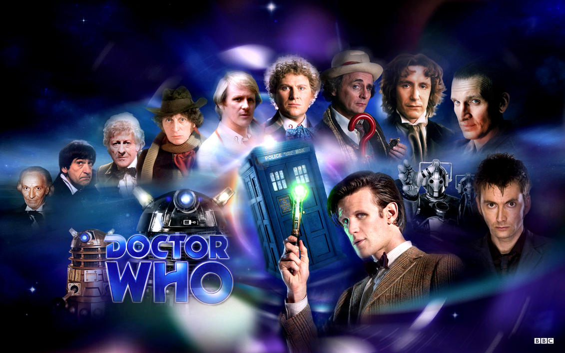 Doctor Who - All Doctors by 1darthvader
