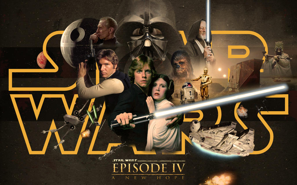 Star Wars Episode IV - A New Hope by 1darthvader