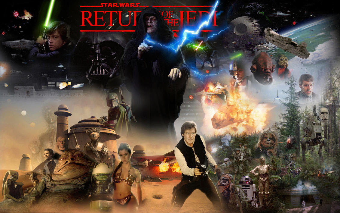 Star Wars Episode VI - Return Of The Jedi by 1darthvader