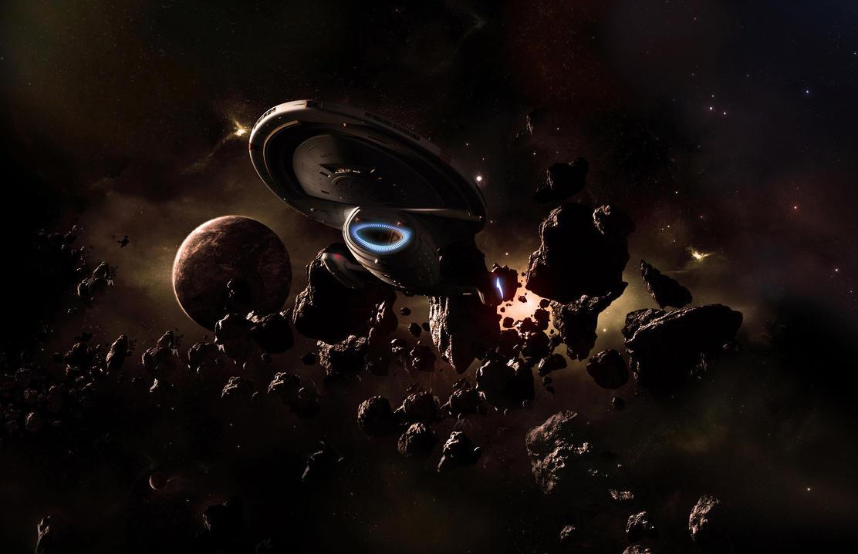 Asteroid Scan by 1darthvader