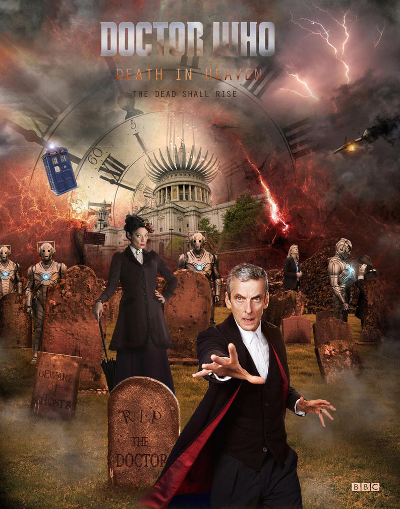 Doctor Who - Death In Heaven by 1darthvader