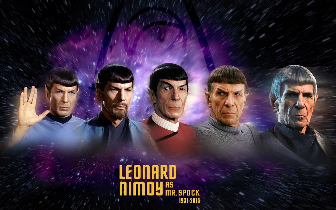 Mr Spock - A Leonard Nimoy Tribute by 1darthvader