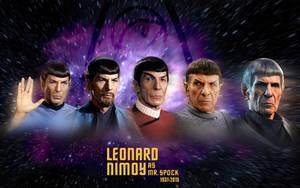 Mr Spock - A Leonard Nimoy Tribute by 1darthvader