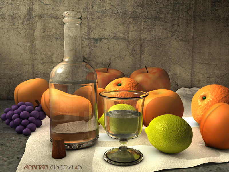Fruit C4D by ALBITAR