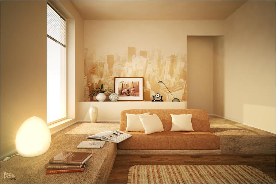 Living Room 3 By ALBITAR