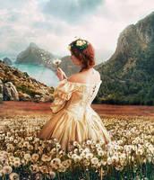 Dandelion Dress by ALBITAR