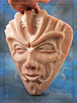 Stone Spirit talc mask view3