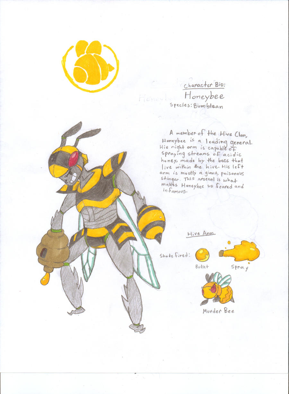 Original Character bio: Honeybee by Scrafty112