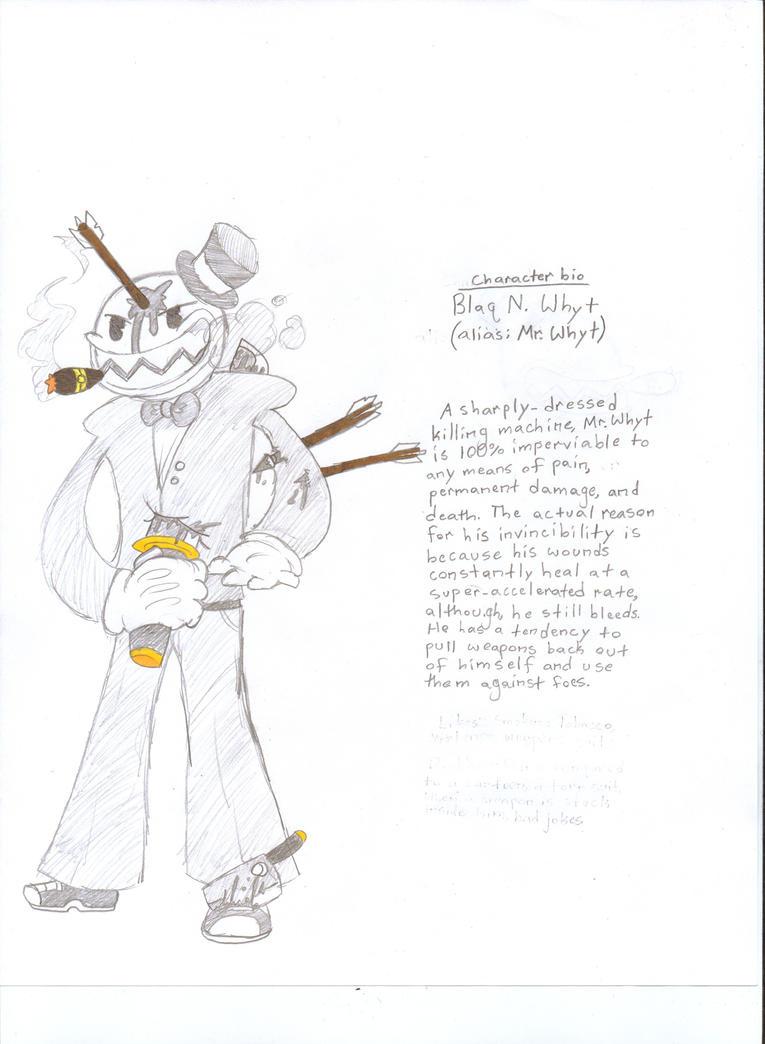 Original Character bio#3: Blaq N. Whyt by Scrafty112