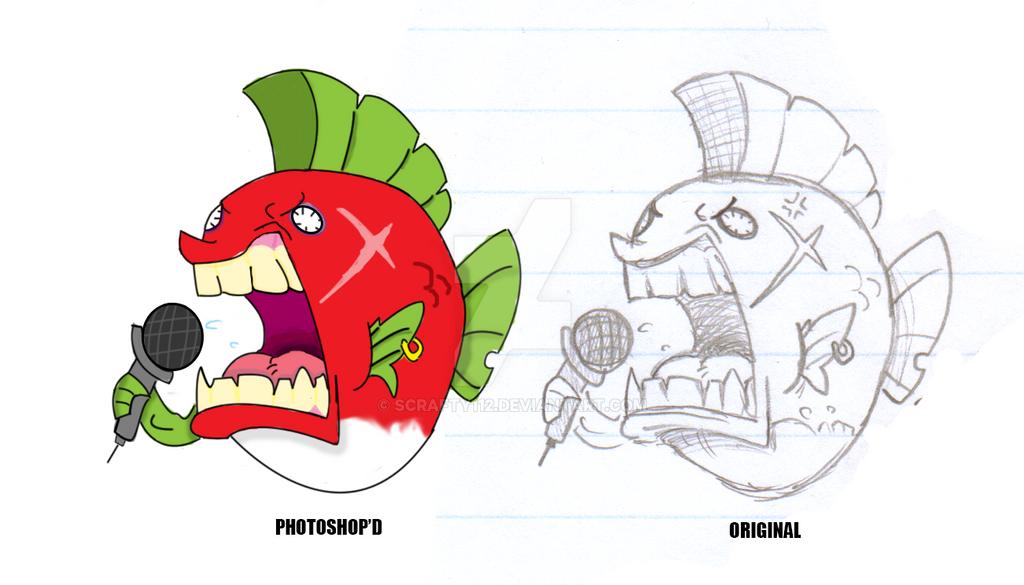 Punkfish by Scrafty112