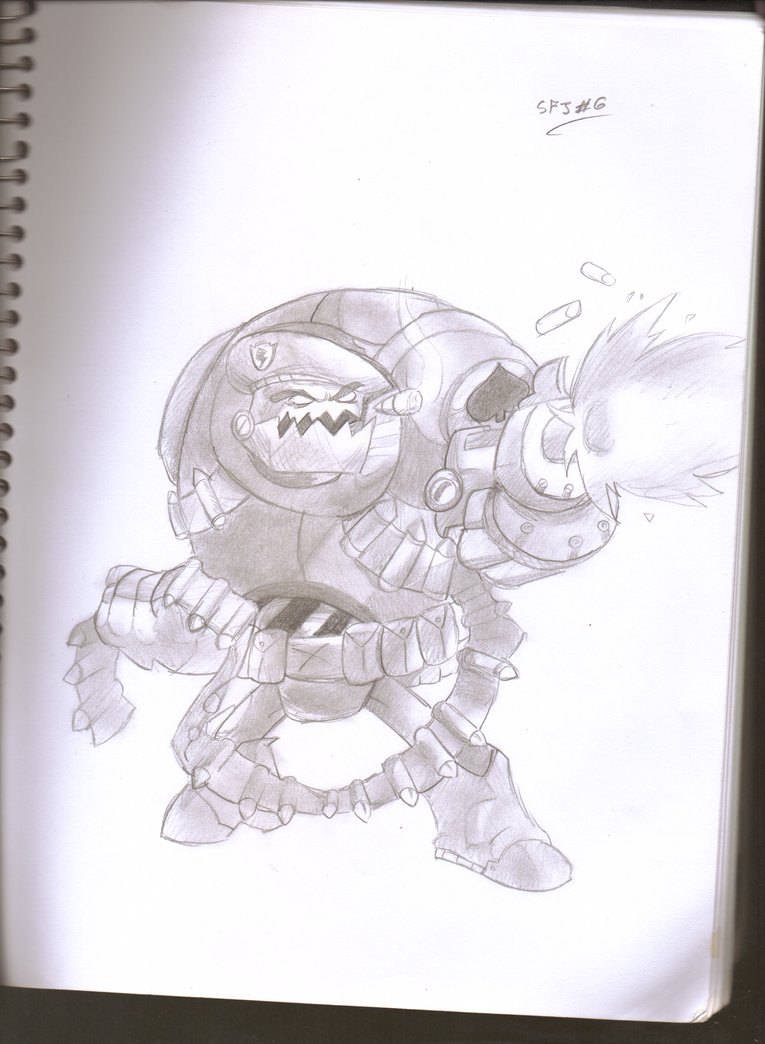 Awesomenauts-Expendable Clunk by Scrafty112