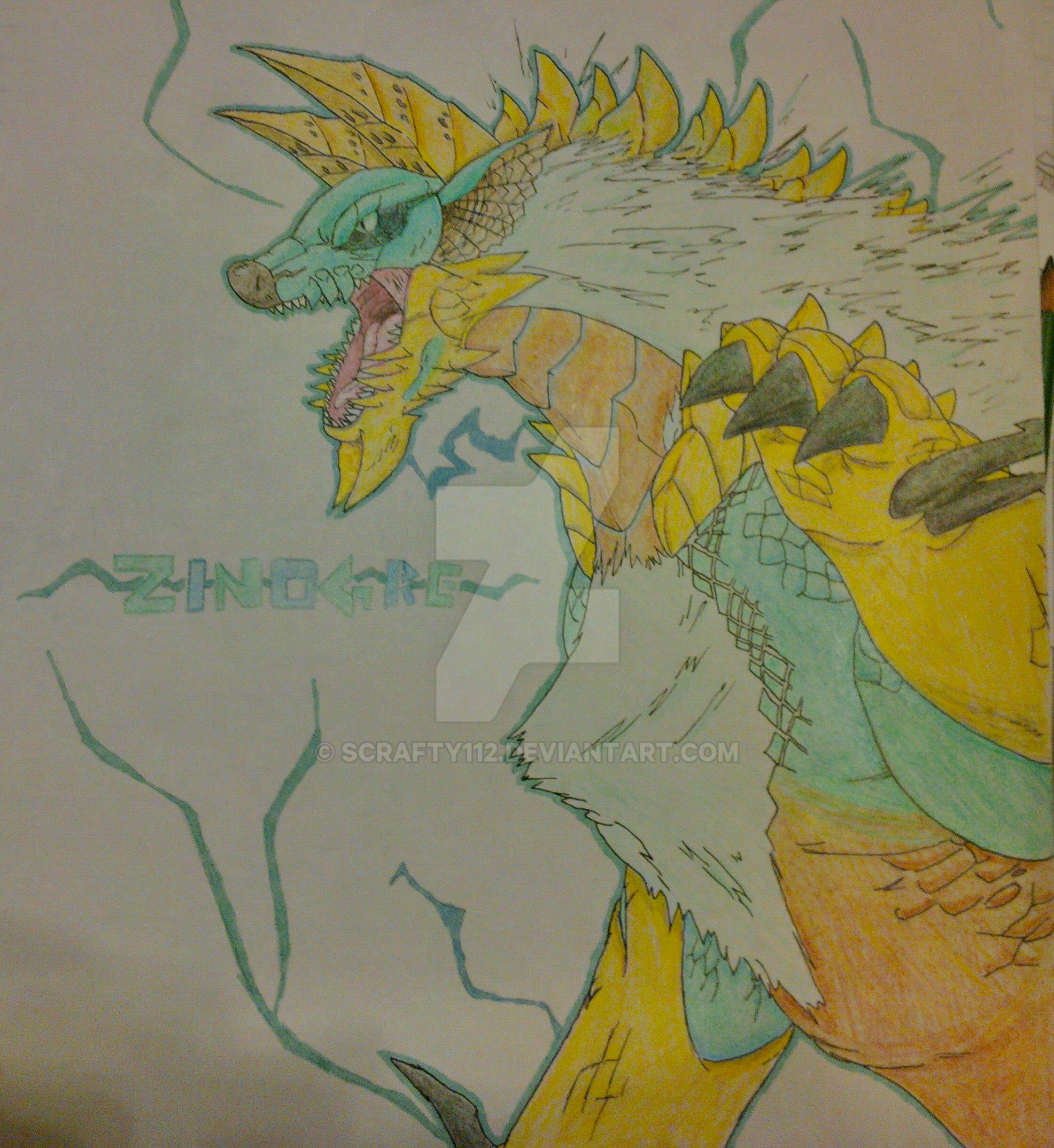 Zinogre! by Scrafty112