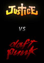 Justice vs Daft Punk by Tsukasa-Tux