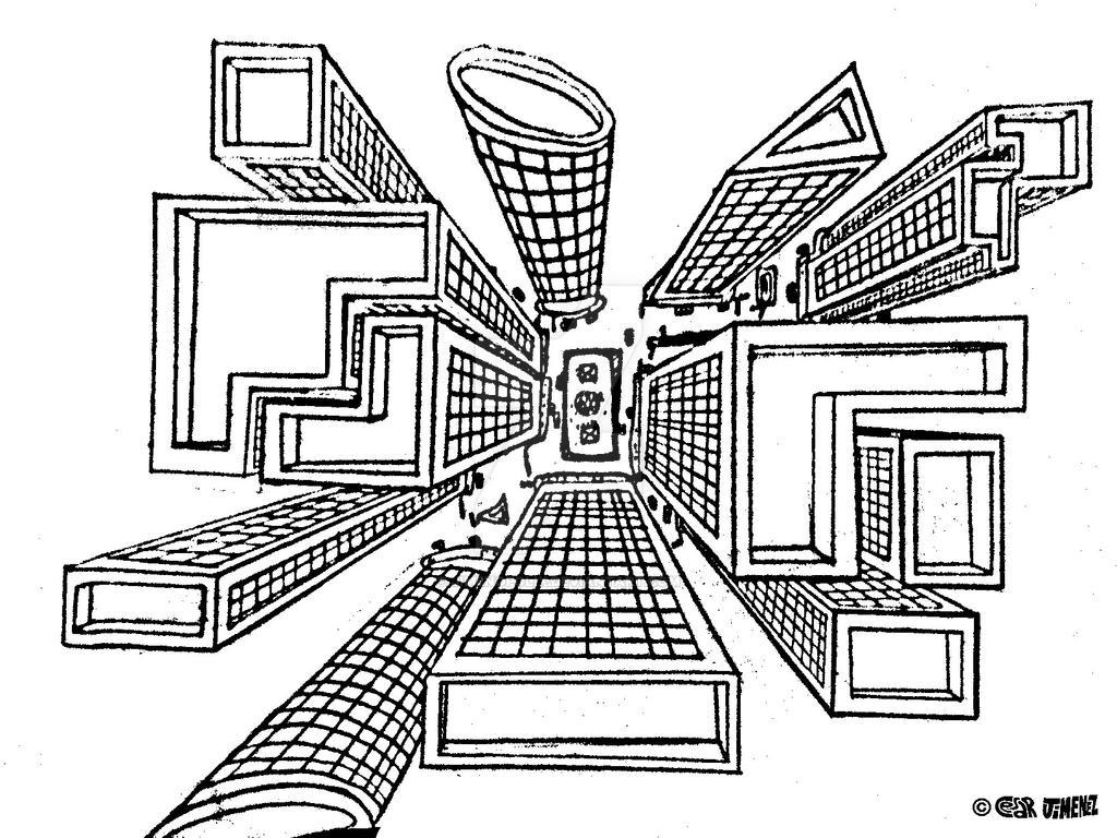 Perspective Drawings Of Buildings drawings of buildingsjimenopolix intended decorating