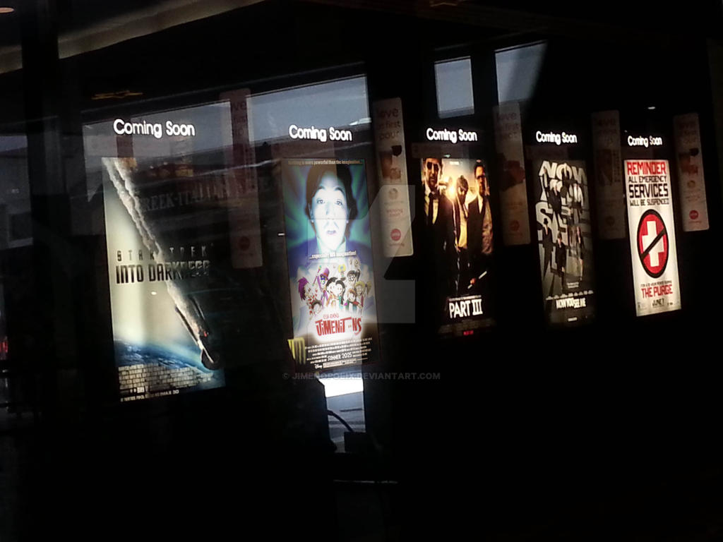 jimenitoons movie poster at amc theaters by