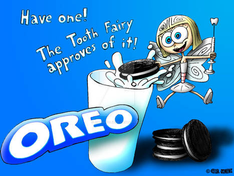OREO Ad with Tooth Fairy (Colored)